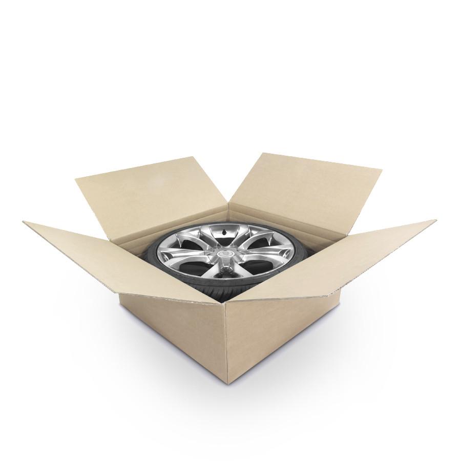 Reifenkarton, Komplettradkarton für den Reifenversand