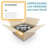 Komplettradversand, Reifenversand deutschlandweit inkl. Karton