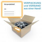"""Felgenversand deutschlandweit inkl. Felgenkarton """"Single"""" für je eine Felge"""