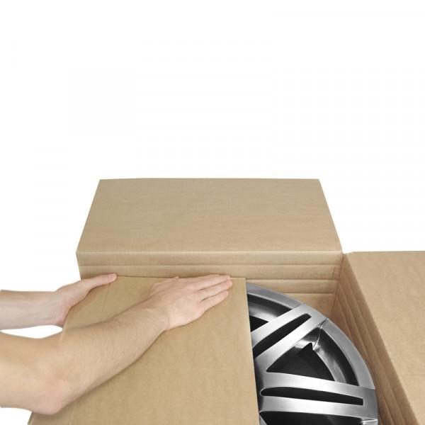4 18 zoll felgenkarton schutzkartons f r 4 alufelgen ebay. Black Bedroom Furniture Sets. Home Design Ideas