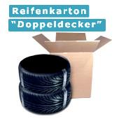 """Reifenkarton """"Doppeldecker"""" von 14 bis 19 Zoll"""